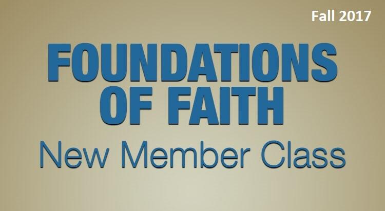 Foundations of Faith - Fall 2017