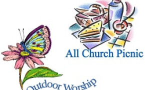 Outdoor Worship and Church Picnic
