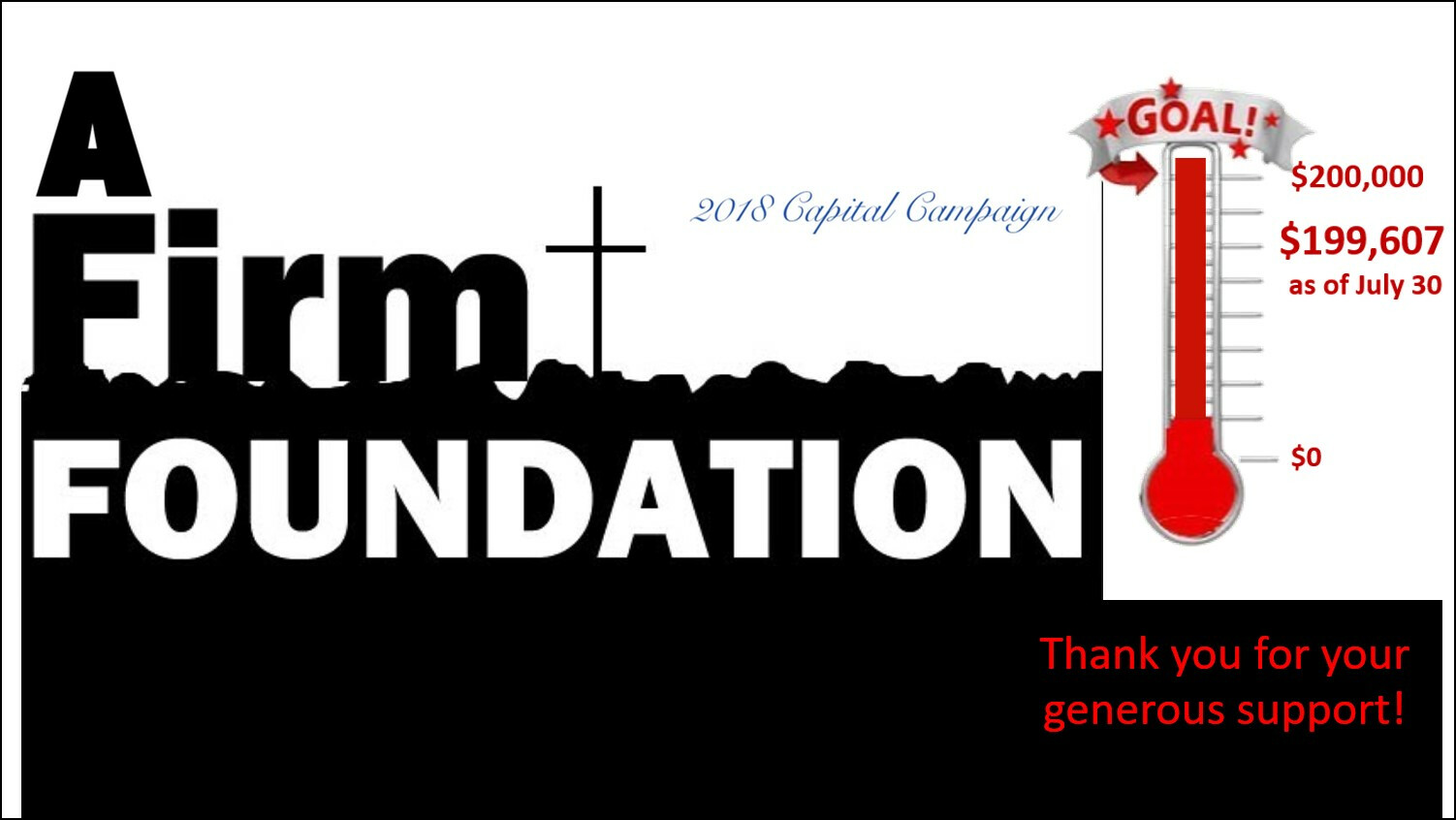 Firm Foundation Appeal 2018