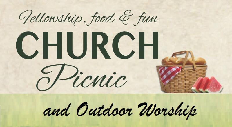 Calvary Outdoor Worship & Church Picnic