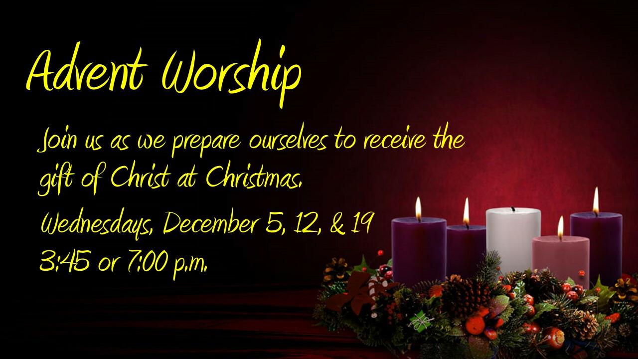 Midweek Advent Worship