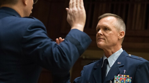 Rev. Yates Promoted to Brigadier General