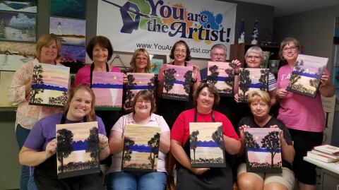 Fellowship Painting Class June 2019