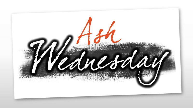 Ash Wednesday Worship — 3:45 & 7:00 PM