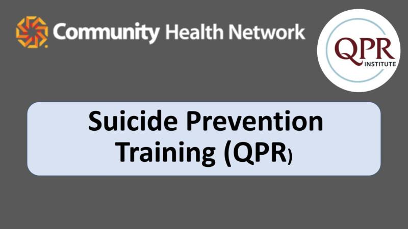Suicide Prevention Training (QPR)