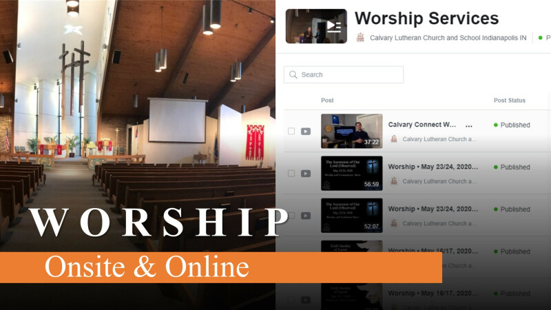 Worship w/Communion — Onsite