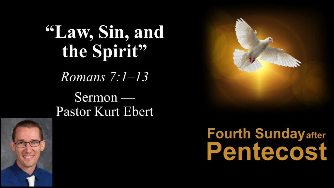 Law, Sin, and the Spirit