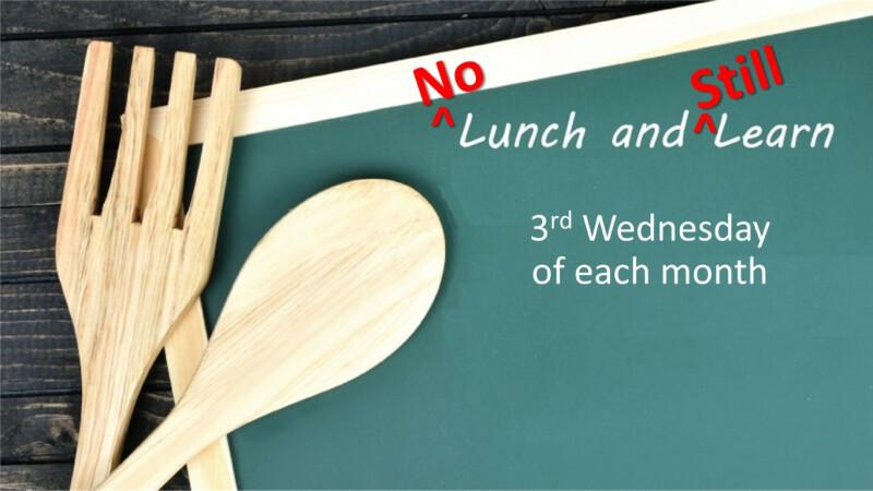 No Lunch, Still Learn - Oct 2020