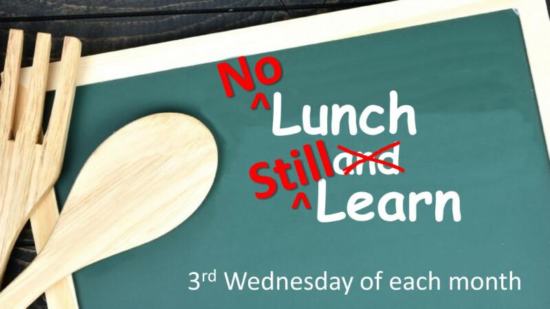 No Lunch, Still Learn — April 2021