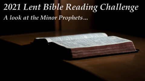 2021 Lent Bible Reading Challenge
